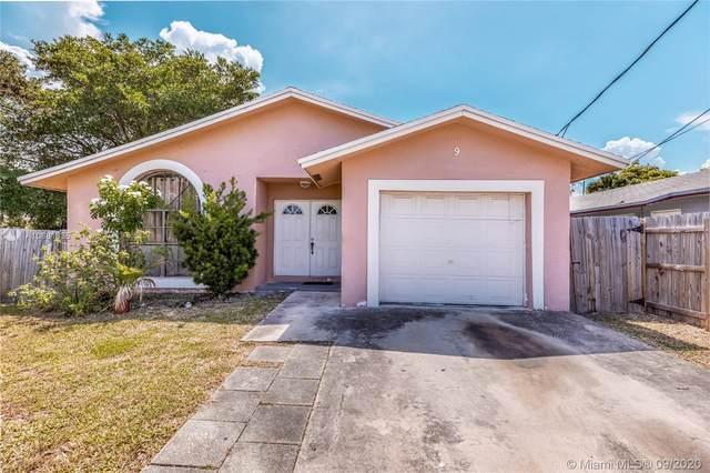 9 NW 6th Ave, Dania Beach, FL 33004 (MLS #A10881335) :: Berkshire Hathaway HomeServices EWM Realty