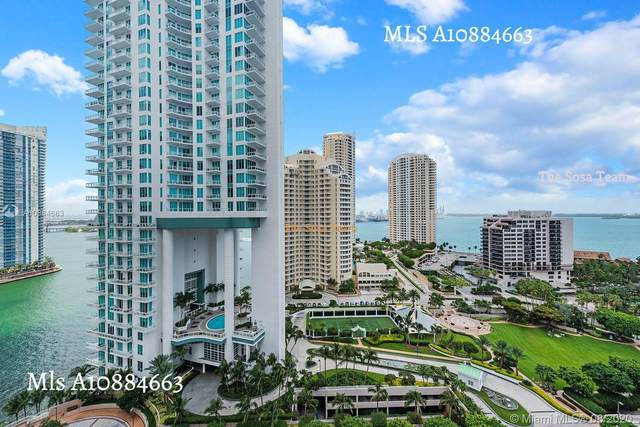 801 Brickell Key Blvd #1912, Miami, FL 33131 (MLS #A10884663) :: Ray De Leon with One Sotheby's International Realty