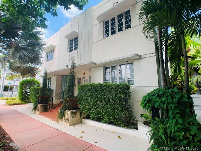 359 Meridian Ave A204, Miami Beach, FL 33139 (MLS #A10907894) :: Ray De Leon with One Sotheby's International Realty