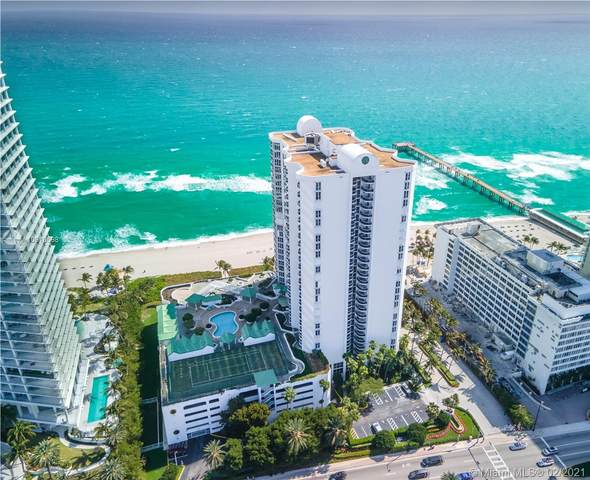 16711 Collins Ave #604, Sunny Isles Beach, FL 33160 (MLS #A10910598) :: Green Realty Properties
