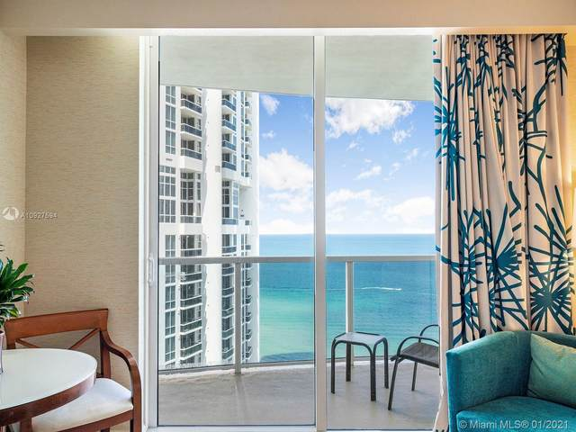 18001 Collins Ave #1706, Sunny Isles Beach, FL 33160 (MLS #A10927594) :: Castelli Real Estate Services