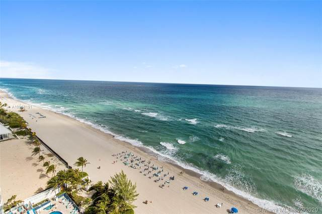 18671 Collins Ave #1801, Sunny Isles Beach, FL 33160 (MLS #A10948191) :: The Howland Group