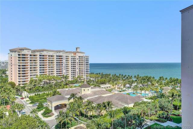 789 Crandon Blvd #1201, Key Biscayne, FL 33149 (MLS #A10948432) :: ONE Sotheby's International Realty