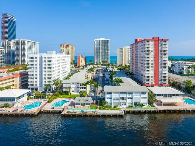 3121 S Ocean Dr #113, Hallandale Beach, FL 33009 (MLS #A10955557) :: Prestige Realty Group