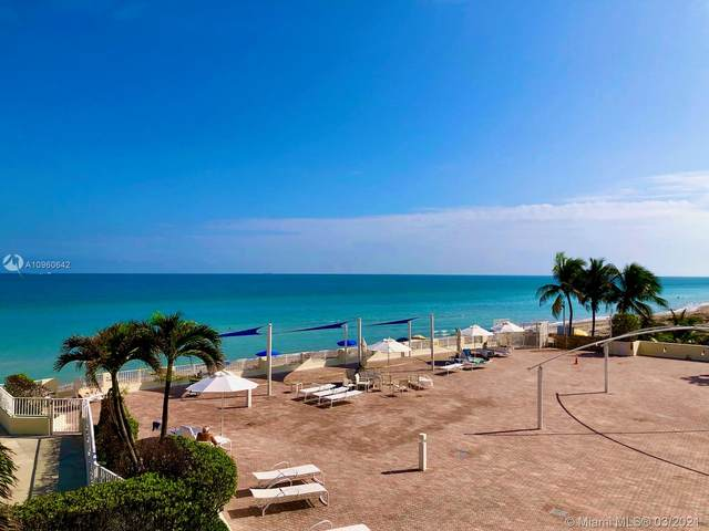 3180 S Ocean Dr #208, Hallandale Beach, FL 33009 (MLS #A10960642) :: Green Realty Properties