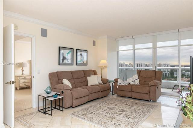 21205 Yacht Club Dr #2407, Aventura, FL 33180 (MLS #A10964588) :: Green Realty Properties