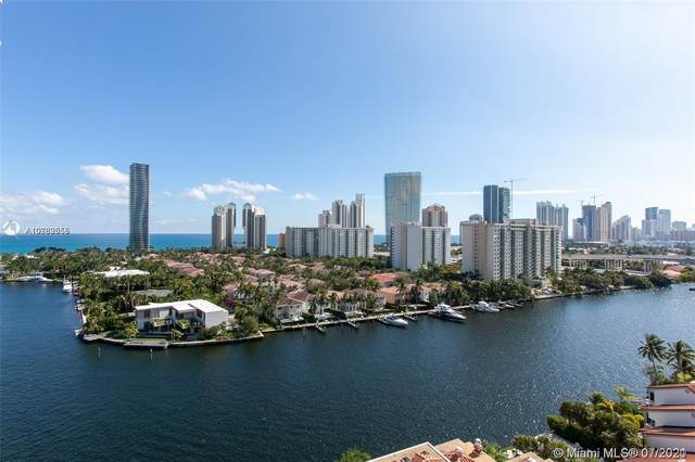 19667 Turnberry Way 15A, Aventura, FL 33180 (MLS #A10989558) :: Onepath Realty - The Luis Andrew Group