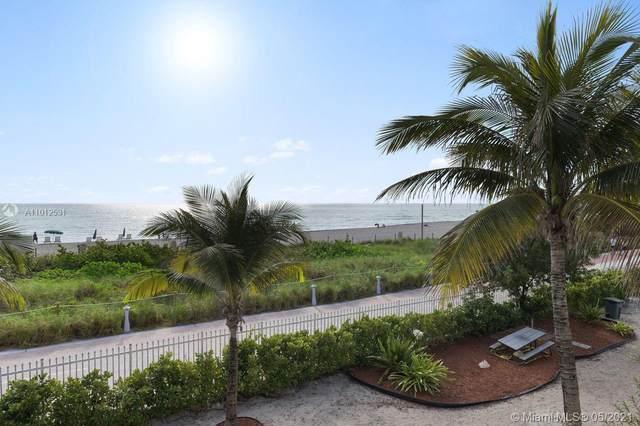 6039 Collins Ave #810, Miami Beach, FL 33140 (#A11012531) :: Posh Properties