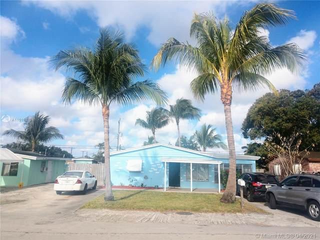 4925 SW 44th Ave, Dania Beach, FL 33314 (MLS #A11019479) :: The Rose Harris Group