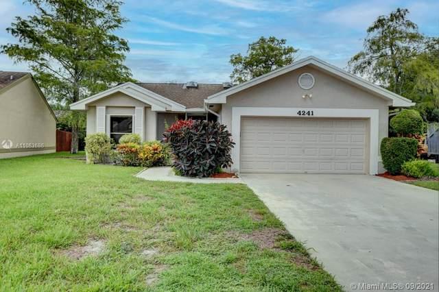 4241 Green Forest Way, Boynton Beach, FL 33436 (MLS #A11063686) :: Prestige Realty Group