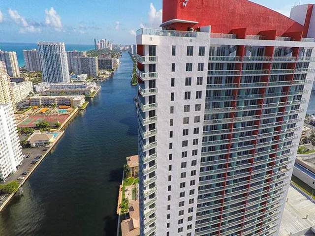2602 E Hallandale Beach R1704, Hallandale, FL 33309 (MLS #A2108146) :: Berkshire Hathaway HomeServices EWM Realty