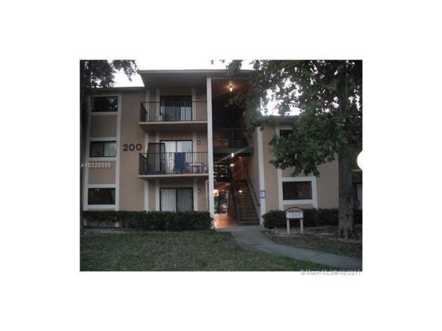 200 W Palm Cir W #206, Pembroke Pines, FL 33025 (MLS #A10328355) :: RE/MAX Presidential Real Estate Group