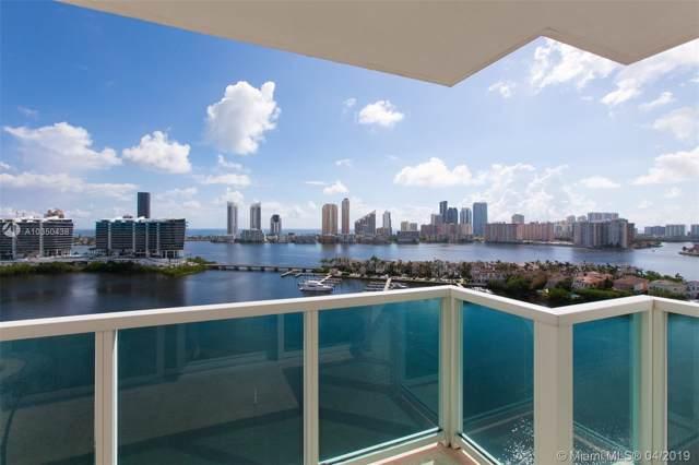 3201 NE 183 ST #1708, Aventura, FL 33160 (MLS #A10350438) :: Green Realty Properties