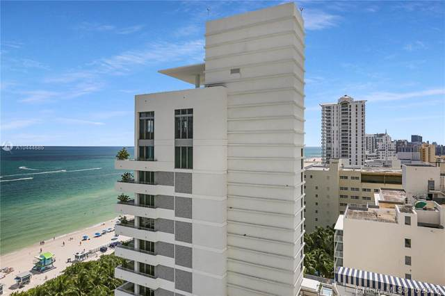 4391 Collins Ave #1415, Miami Beach, FL 33140 (MLS #A10444685) :: Berkshire Hathaway HomeServices EWM Realty