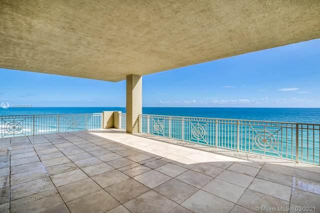 5310 N Ocean Dr #1101, Singer Island, FL 33404 (#A10561015) :: Posh Properties