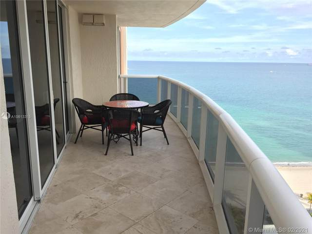 18911 Collins Ave #1803, Sunny Isles Beach, FL 33160 (MLS #A10613315) :: Green Realty Properties