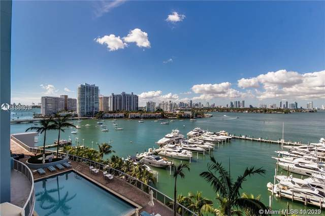 1800 Sunset Harbour Dr #1010, Miami Beach, FL 33139 (MLS #A10669788) :: The Pearl Realty Group