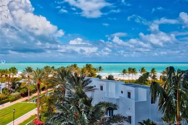 100 S Pointe Dr #609, Miami Beach, FL 33139 (MLS #A10680576) :: Castelli Real Estate Services