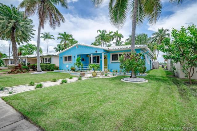 843 Tyler St, Hollywood, FL 33019 (MLS #A10718837) :: Green Realty Properties