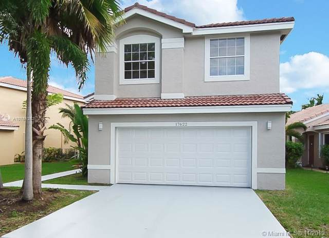 17622 SW 18th St, Miramar, FL 33029 (MLS #A10751262) :: The Jack Coden Group
