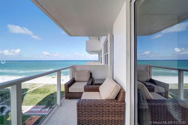 5701 Collins Ave #1219, Miami Beach, FL 33140 (MLS #A10764021) :: Patty Accorto Team