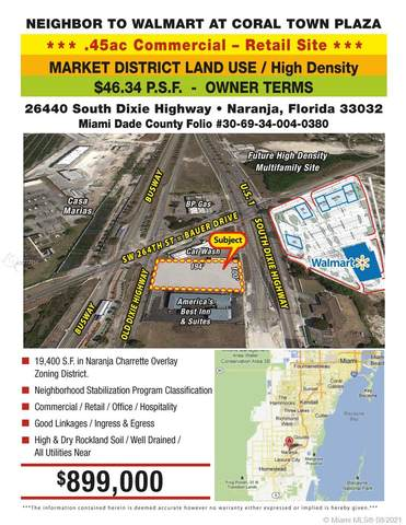 26440 S Dixie Hwy, Naranja, FL 33032 (MLS #A10772255) :: GK Realty Group LLC