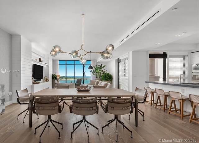 7066 Fisher Island Dr #7066, Miami Beach, FL 33109 (MLS #A10795802) :: Castelli Real Estate Services