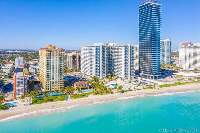 2080 S Ocean Dr #407, Hallandale Beach, FL 33009 (MLS #A10818045) :: GK Realty Group LLC
