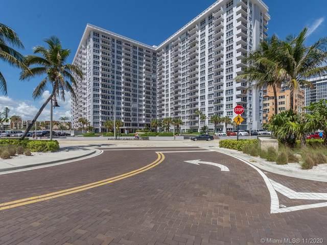 405 N Ocean Blvd #829, Pompano Beach, FL 33062 (MLS #A10834516) :: Ray De Leon with One Sotheby's International Realty