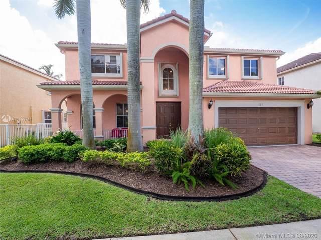 737 Nandina Dr, Weston, FL 33327 (MLS #A10898741) :: Green Realty Properties