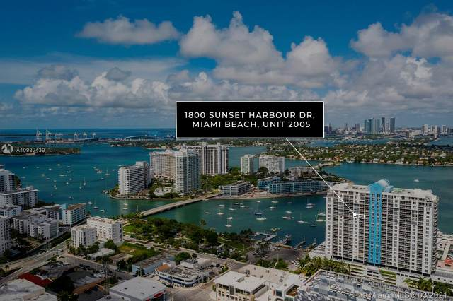 1800 Sunset Harbour Dr #2005, Miami Beach, FL 33139 (MLS #A10982439) :: Podium Realty Group Inc