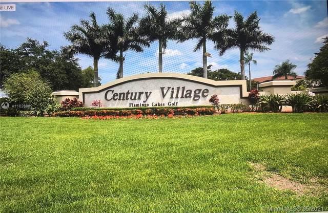 1301 SW 135th Ter 404J, Pembroke Pines, FL 33027 (MLS #A11026869) :: Equity Realty