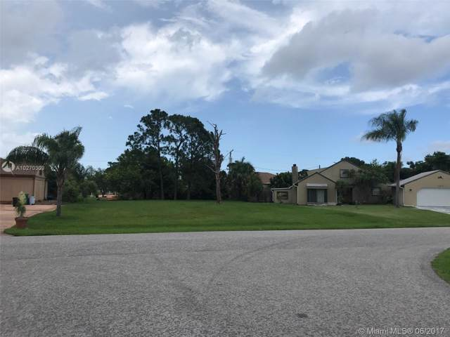 0 SE Mendavia Se Ave, Port Saint Lucie, FL 34952 (MLS #A10270309) :: Albert Garcia Team