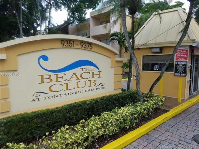 9359 Fontainebleau Blvd F304, Miami, FL 33172 (MLS #A10301785) :: Christopher Tello PA