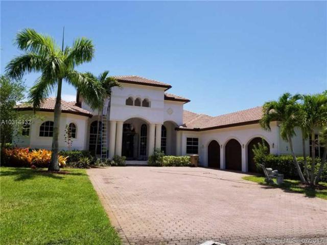 15090 SW 16th St, Weston, FL 33326 (MLS #A10314432) :: Green Realty Properties
