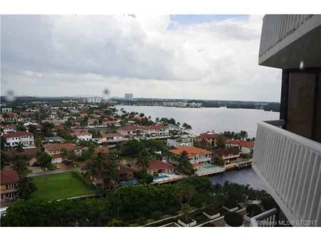 1000 W Island Blvd #1504, Aventura, FL 33160 (MLS #A10314852) :: Green Realty Properties