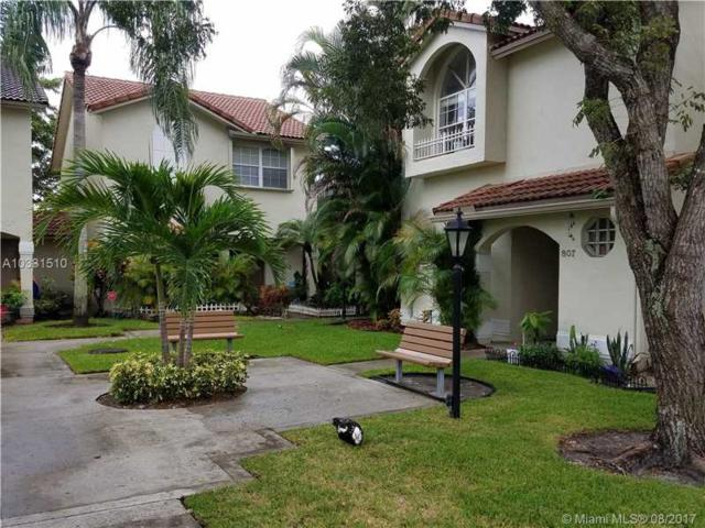 805 NW 108 Terrace 7-L, Pembroke Pines, FL 33026 (MLS #A10331510) :: Green Realty Properties