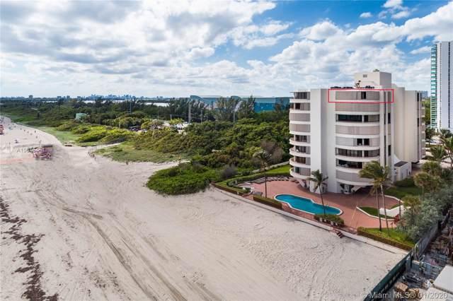 15645 E Collins Ave Ph 6, Sunny Isles Beach, FL 33160 (MLS #A10648451) :: The Teri Arbogast Team at Keller Williams Partners SW