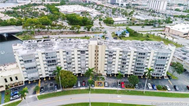200 Diplomat Pkwy #633, Hallandale, FL 33009 (MLS #A10726273) :: The Rose Harris Group