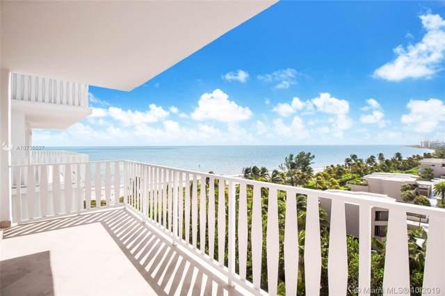 200 Ocean Lane Dr #904, Key Biscayne, FL 33149 (MLS #A10735527) :: Albert Garcia Team