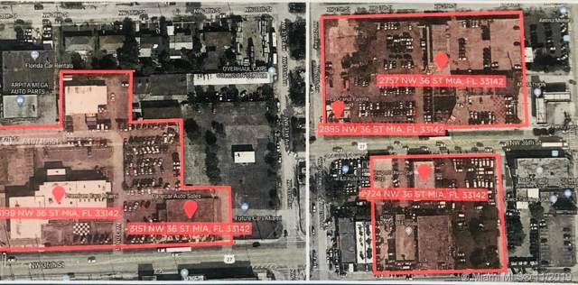 2724 NW 36th St, Miami, FL 33142 (MLS #A10745651) :: Grove Properties