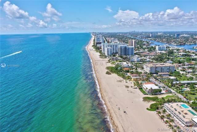 1 N Ocean Blvd #714, Pompano Beach, FL 33062 (MLS #A10748843) :: Castelli Real Estate Services