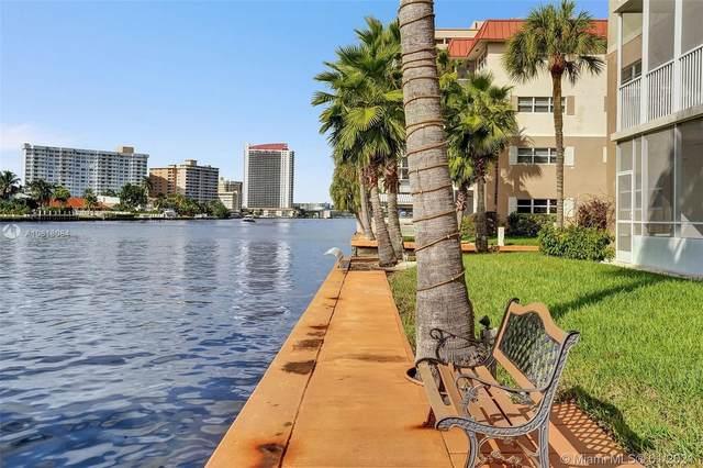 2097 S Ocean Dr #308, Hallandale Beach, FL 33009 (MLS #A10818084) :: The Riley Smith Group