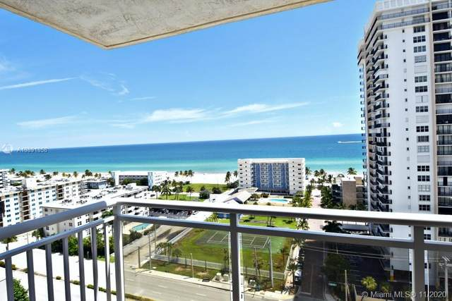 1600 S Ocean Dr 17J, Hollywood, FL 33019 (MLS #A10891858) :: Ray De Leon with One Sotheby's International Realty