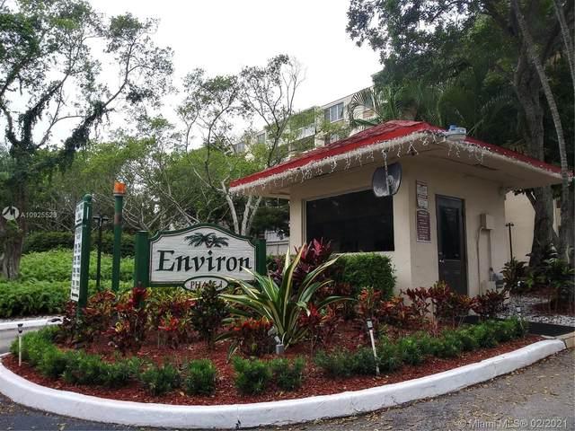 7051 Environ Blvd #332, Lauderhill, FL 33319 (MLS #A10925523) :: Green Realty Properties