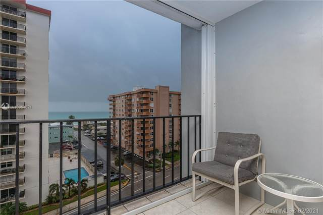 1400 S Ocean Dr #802, Hollywood, FL 33019 (MLS #A10954621) :: Search Broward Real Estate Team