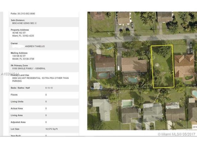 46 NE 162nd St, Miami, FL 33162 (MLS #A10266544) :: Green Realty Properties