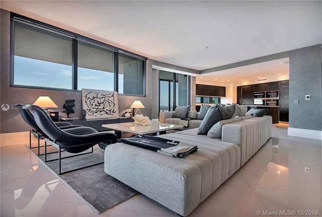 18555 Collins Ave #3503, Sunny Isles Beach, FL 33160 (MLS #A10277665) :: Berkshire Hathaway HomeServices EWM Realty