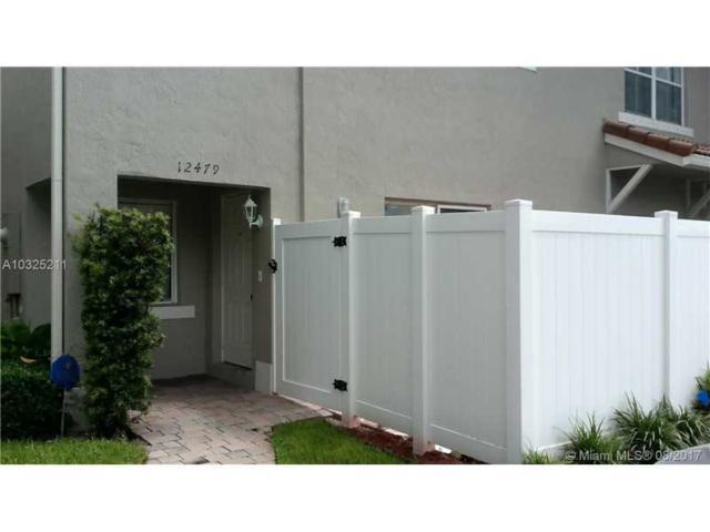 12479 SW 53rd St #12479, Miramar, FL 33027 (MLS #A10325211) :: Green Realty Properties