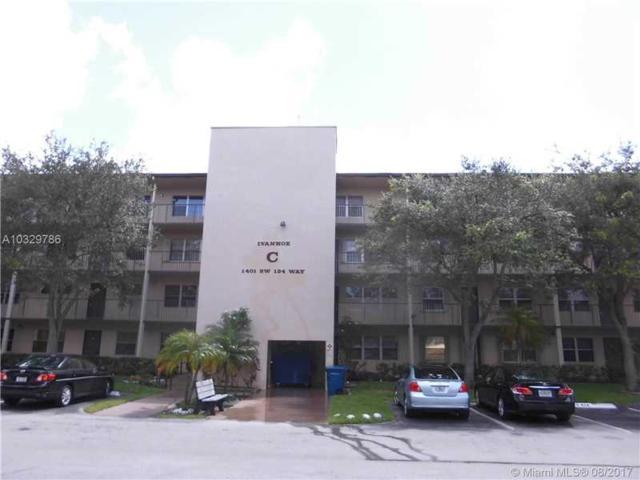 1401 SW 134th Way 412C, Pembroke Pines, FL 33027 (MLS #A10329786) :: The Teri Arbogast Team at Keller Williams Partners SW